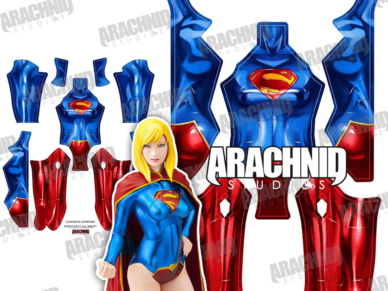 New 52 Supergirl Dye-sub pattern