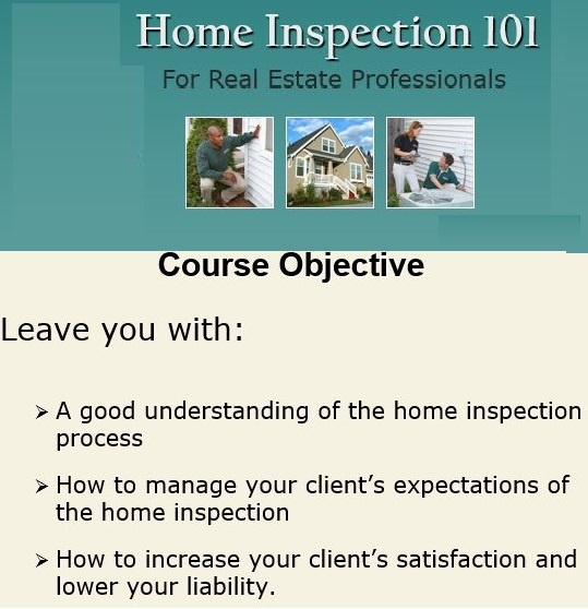 Home Inspection 101 for Real Estate Professionals Texas Version