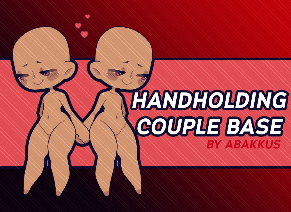 Handholding Couple Base