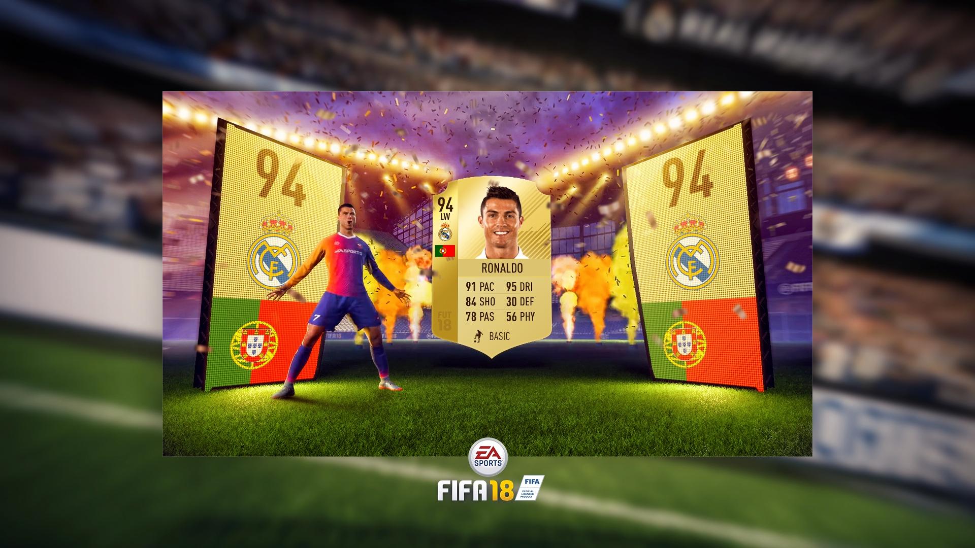 FIFA18 Editable Packopening