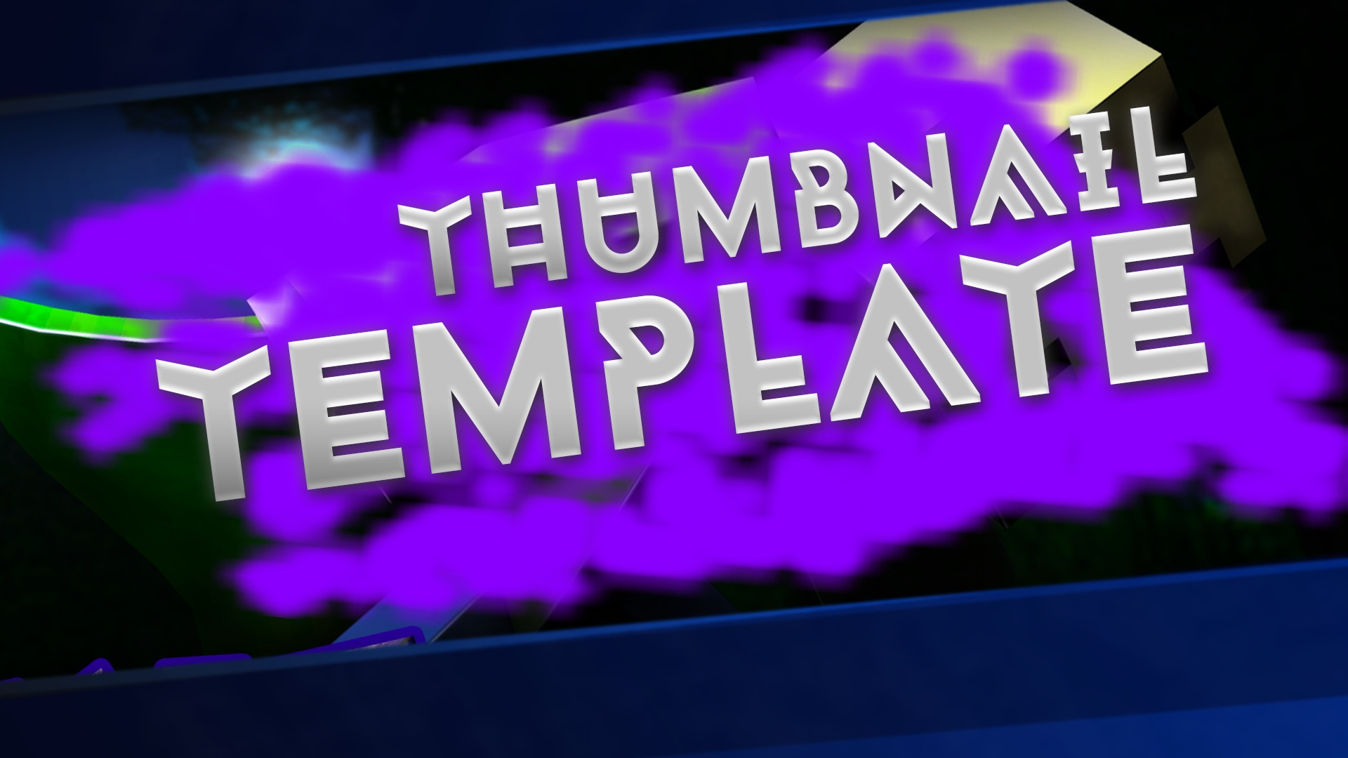 FREE Minecraft Thumbnail Template [+ Minecraft Thumbnail Tutorial]  Craftergraphics