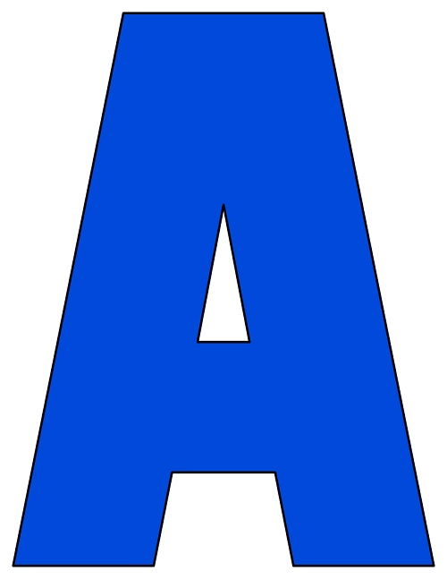 It is a graphic of Current Letter a Printable