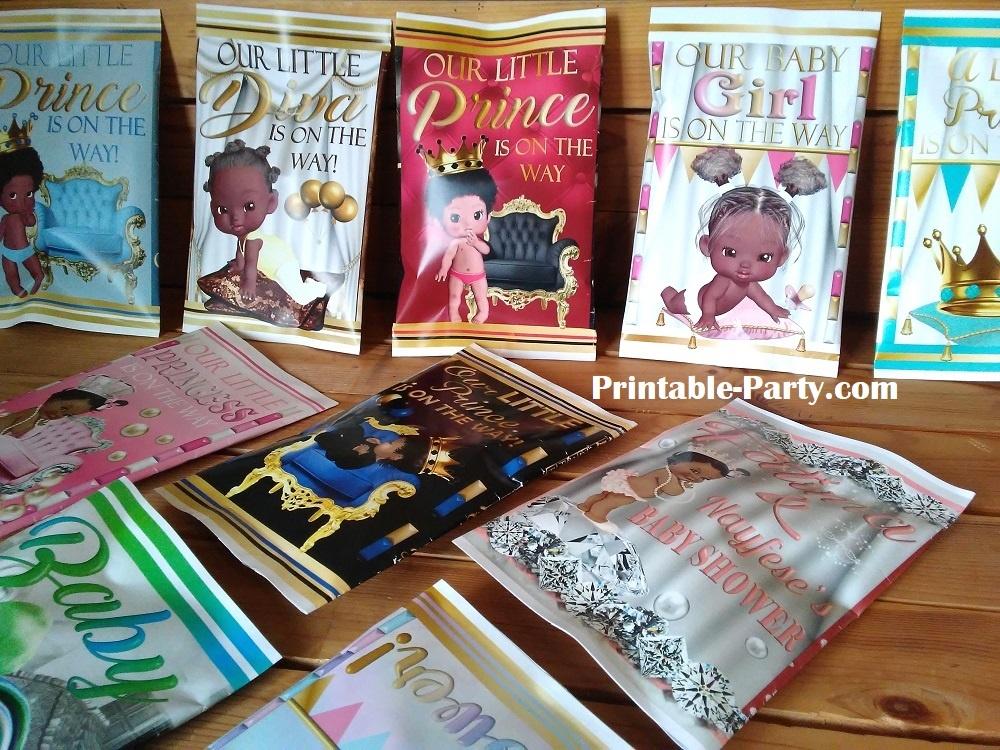 printable-potato-chip-bags-baby-shower-prince-boy-elephant-aqua-silver