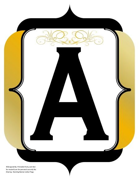 fancy-black-gold-printable-banners-letters-numbers