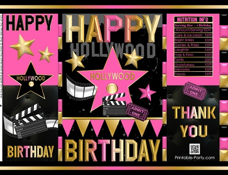 printable-potato-chip-bags-birthday-party-favors-hollywood-theme
