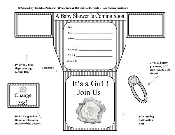 grey-white-stripes-flower-diaper-girl-printable-baby-shower-invitation