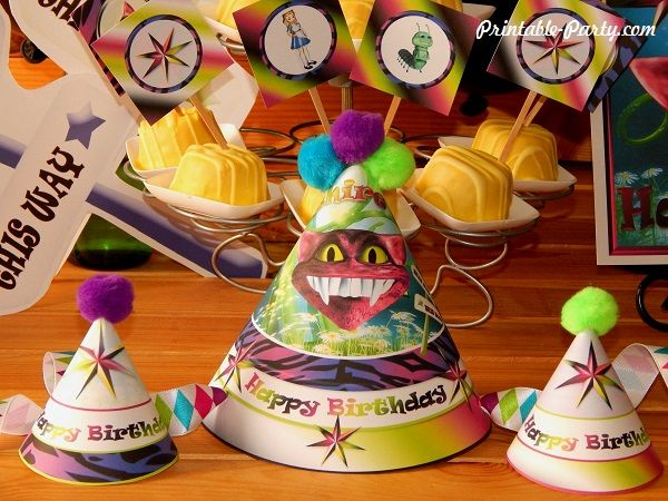wonderlands-cheshire-cat-printable-party-supplies-hats