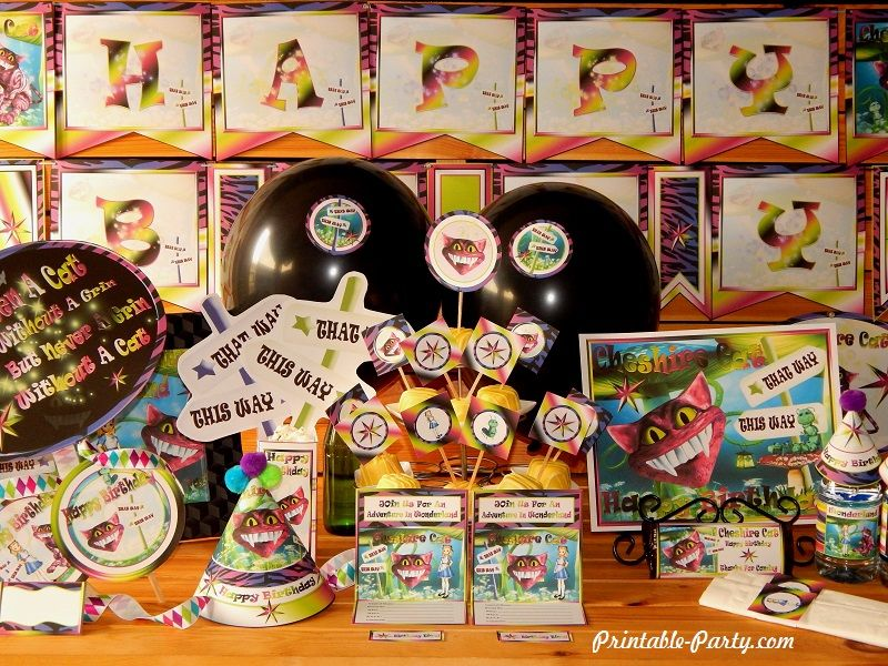 wonderlands-cheshire-cat-printable-birthday-party-supplies