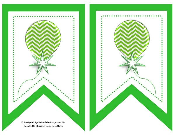 5-inch-swallowtail-green-printable-banner-letters-a-z-0-9