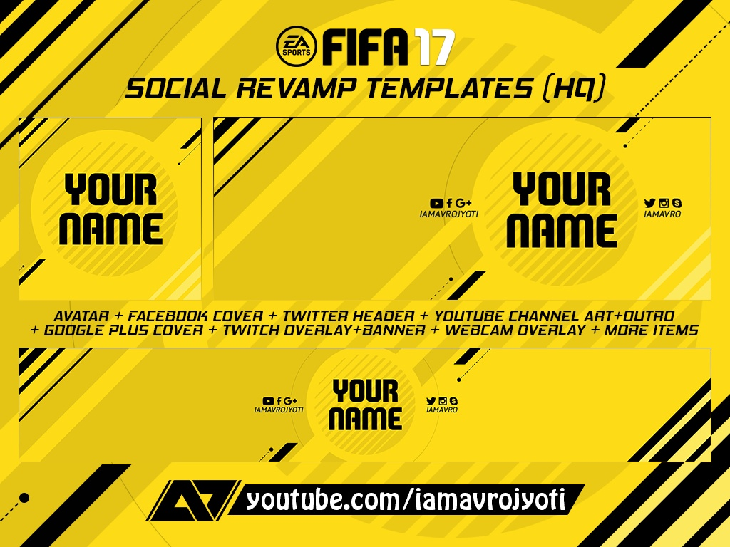 Fifa 17 Quot Social Revamp Pack Quot Template By Mr A7 Custo