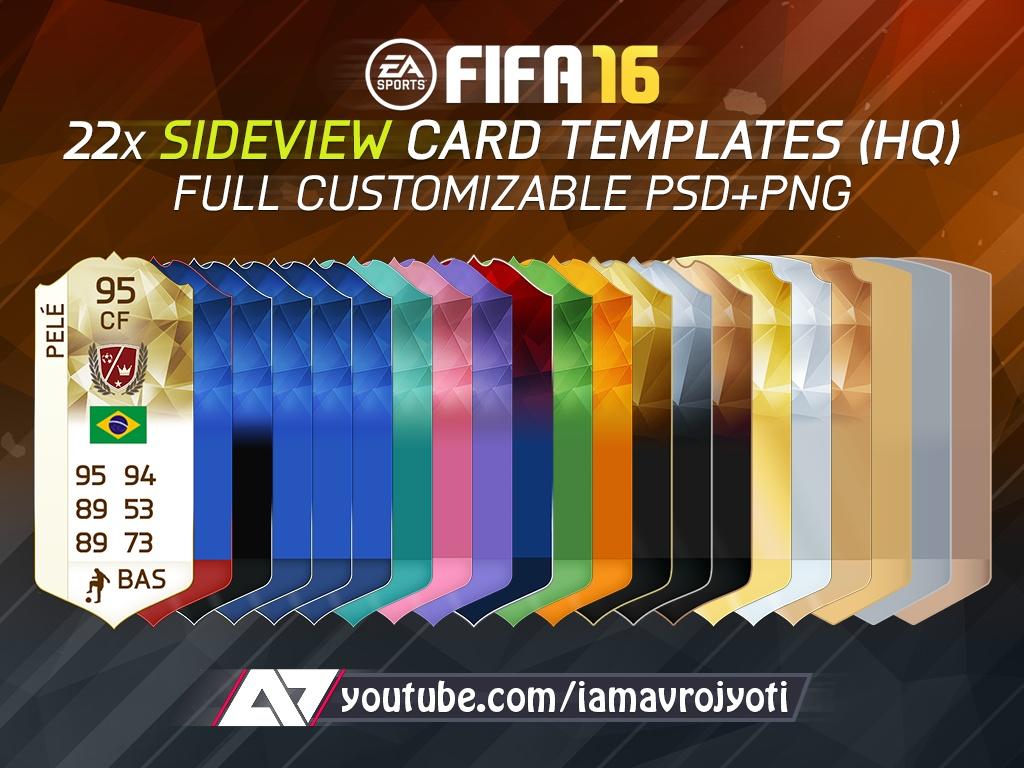 a7 card template