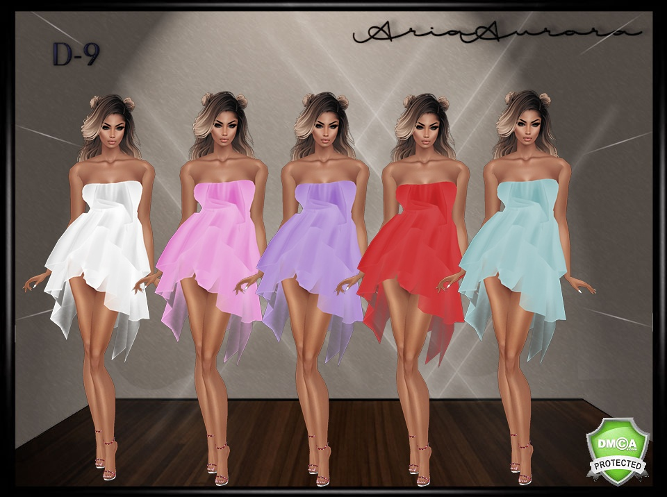D-9 DRESSES, CHATTY ONLY!