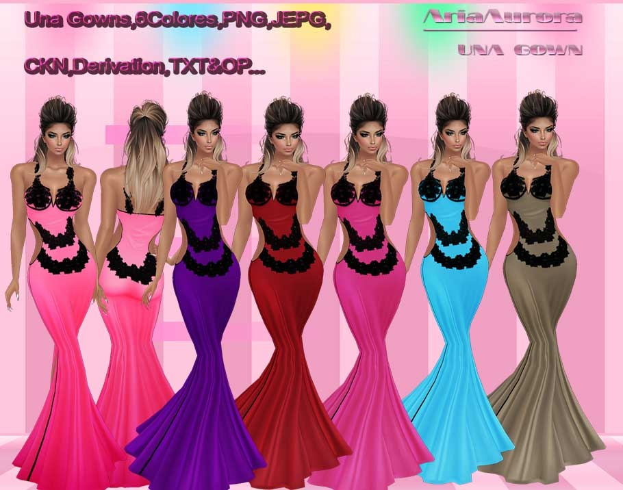 Una Gowns,Resell Right!!