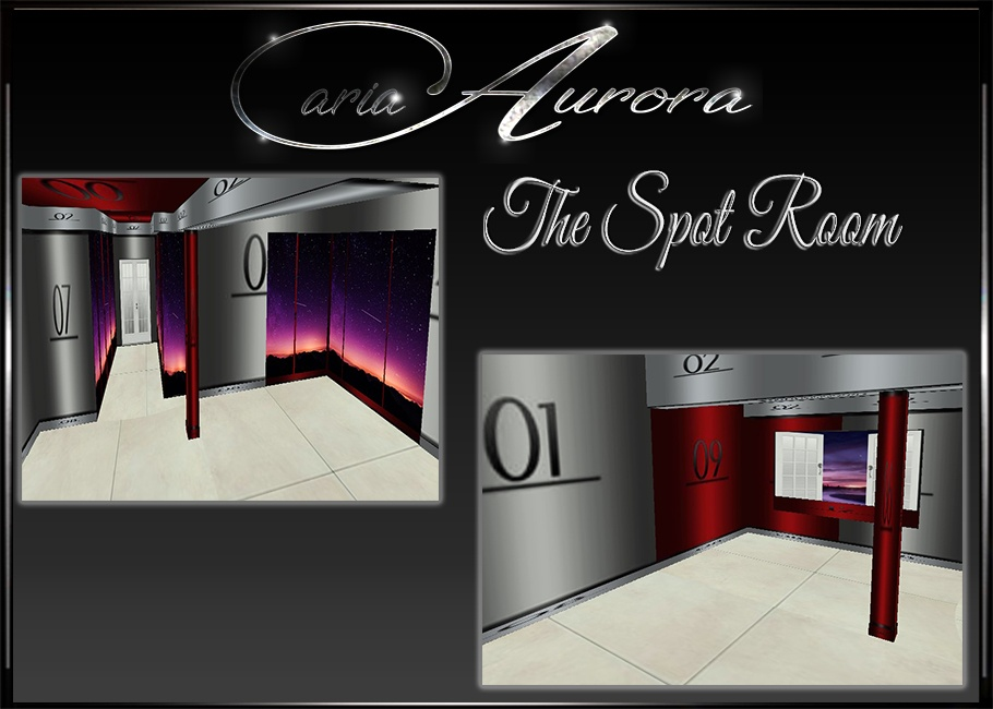 The Spot Room Mesh Bundle Catalog Only! 1 Room +15 Furniture See Images!!
