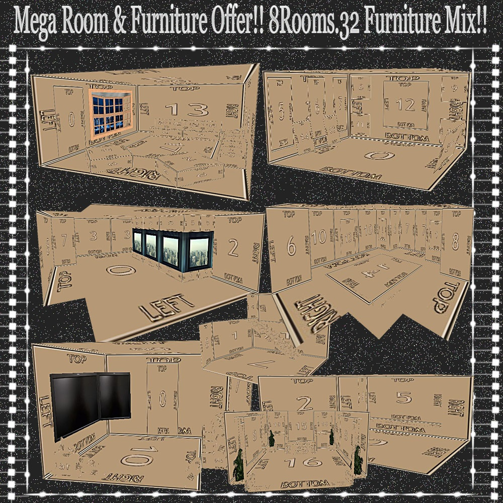 BIGG MESHES OFFER (40MESHES) NO RESELL!! READ DESCRIPTION PLS!!