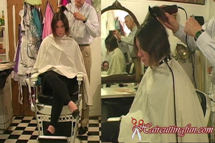 Jessica's Pixie Haircut - VOD Digital Video on Demand