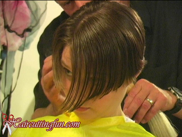 Alison's Boycut Haircut