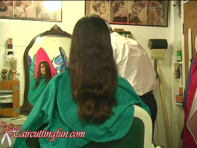 Sharla's Crop - Long hair to very Short Haircut - VOD Digital Video on Demand