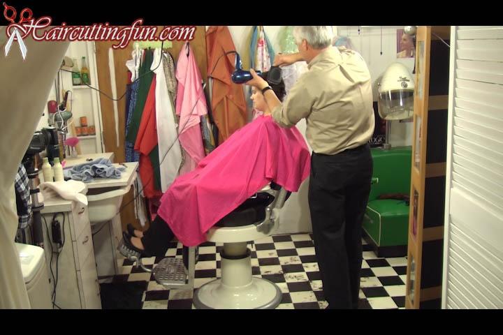 Sydney's Polish Pixie Haircut - VOD Digital Video on Demand
