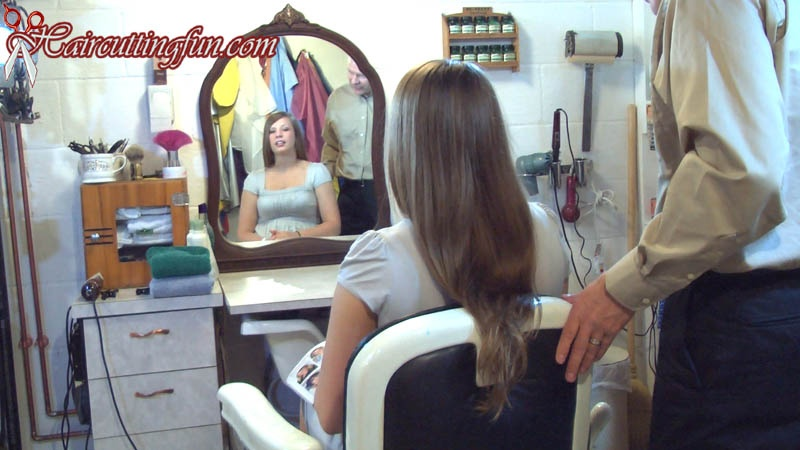 Jen's Bob Haircut - VOD Digital Video on Demand