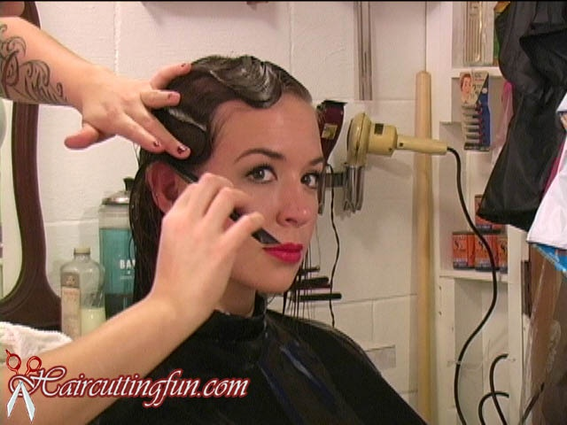 Jukebox Jenny's Button Curlers Set, Pin Curls, and Fingerwaving - VOD Digital Video on Demand