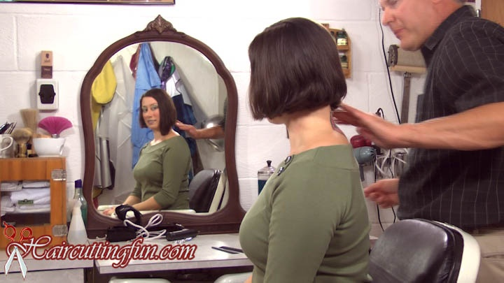 Stacis' Asymmetrical Bob Haircut - VOD Digital Video on Demand