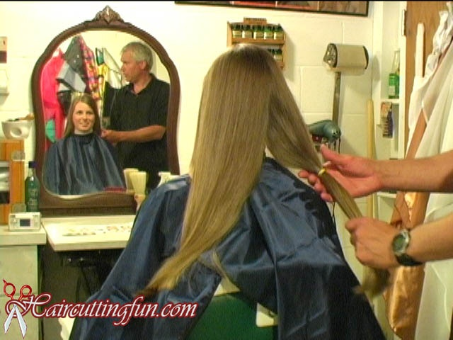 Rachel's Long Bob Haircut with Slight Layers - VDO Digital Video on Demand Download