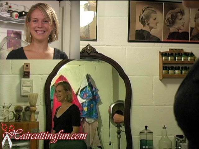 Katie's Bob Haircut and Highlights - VOD Digital Video on Demand
