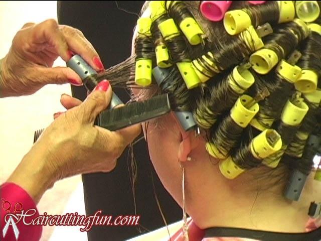 Shelly's Gender Bender with Roller Set and Makeup Makeover - VOD Digital Video on Demand