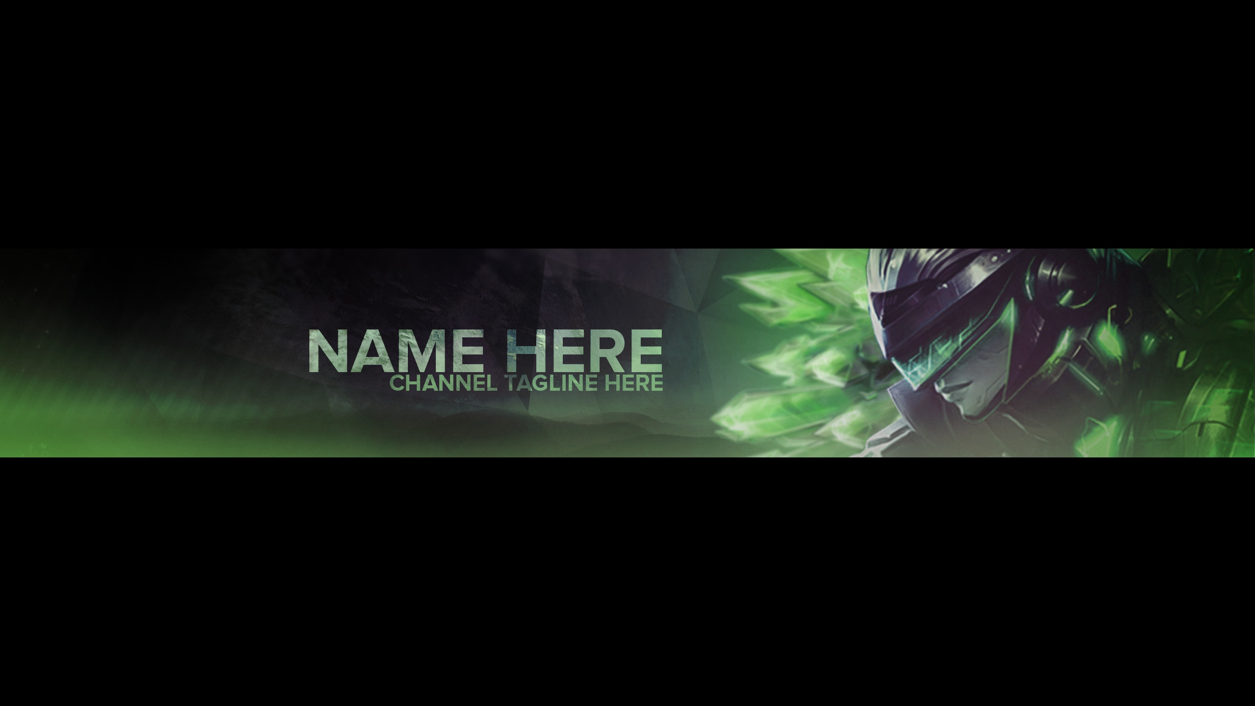 Youtube Banner Template League Of Legends