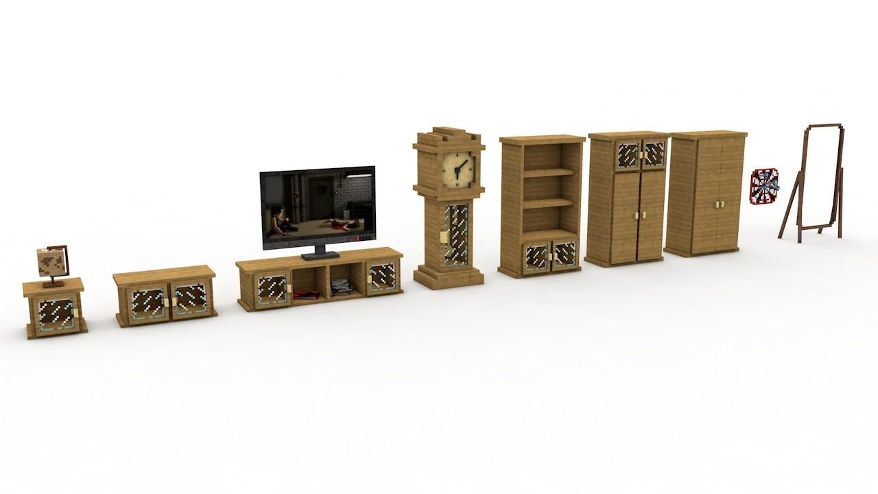 Minecraft Furniture Ideas Living Room - home decor - Myjihad.us