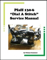 Pfaff 130 Service Manual Vintage Sewing Wizard