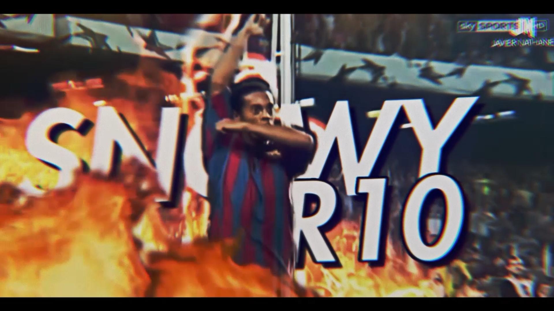 Ronaldinho Edit Project File
