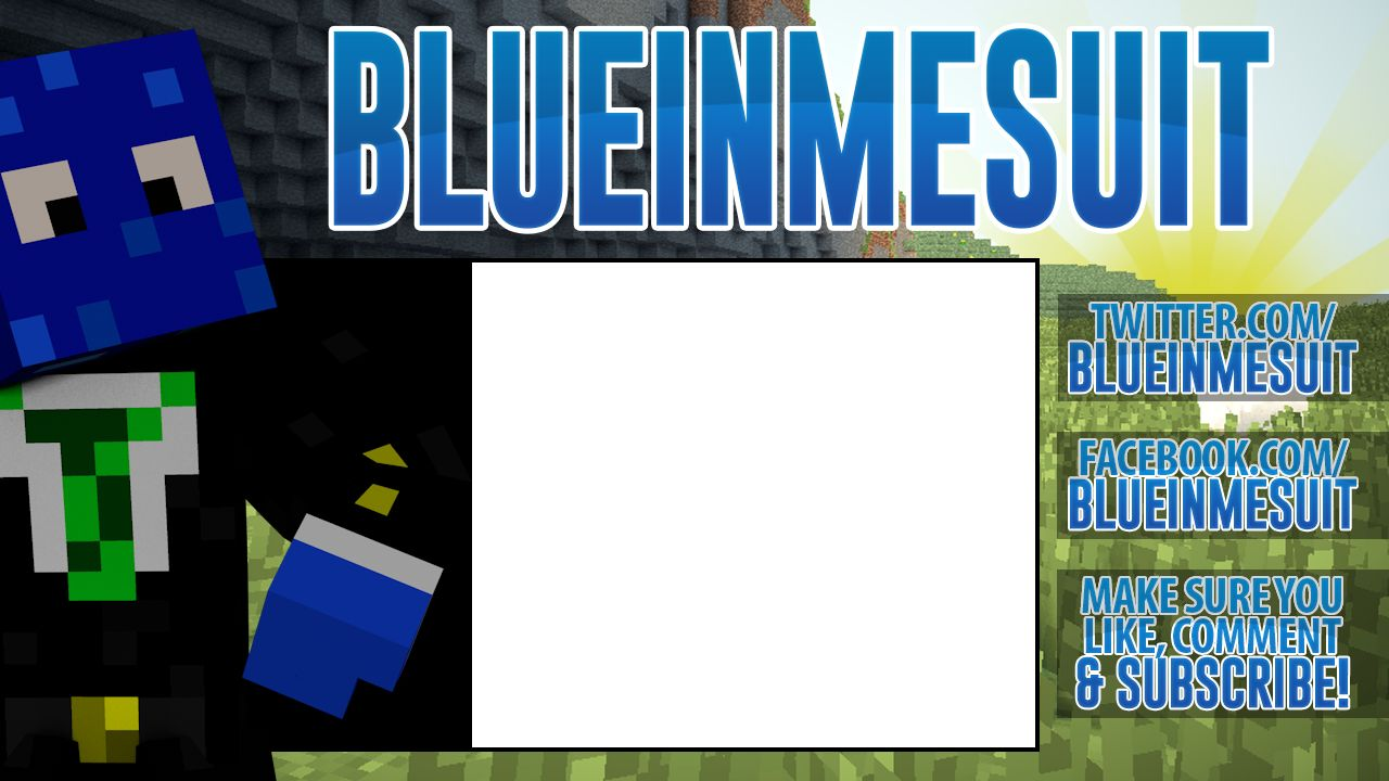 Justanotherliam for Minecraft outro template movie maker