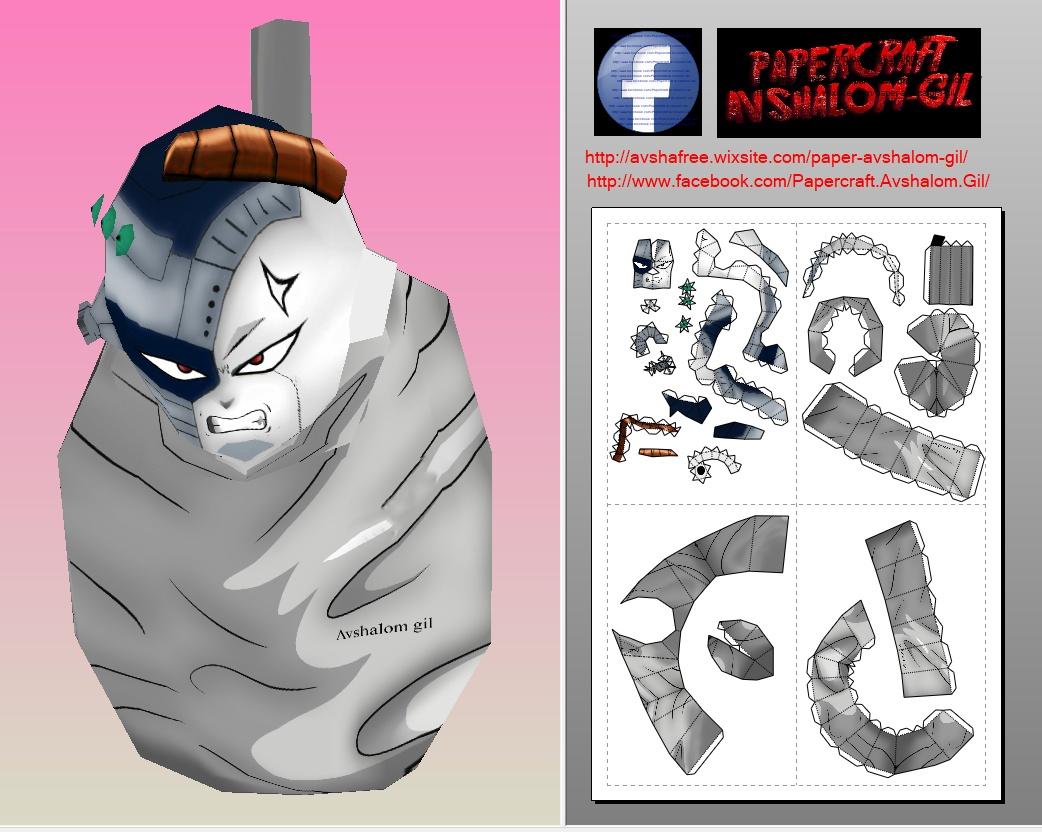 Papercraft mecha frieza hell