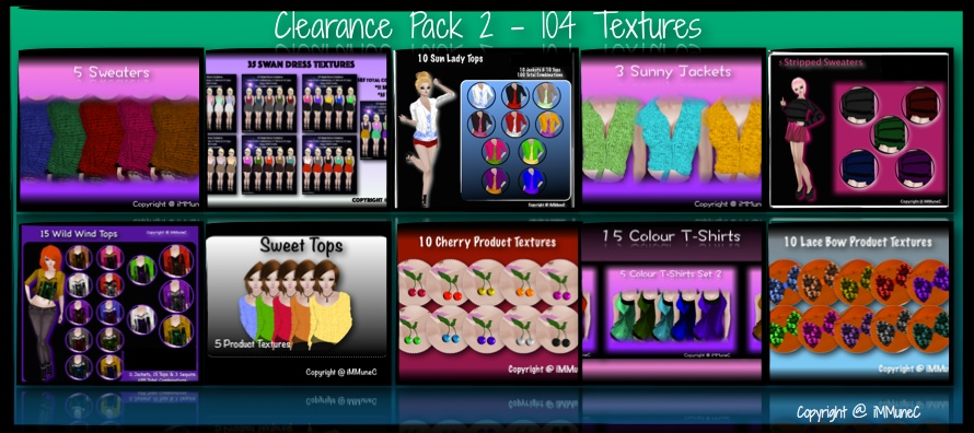 Clearance Texture Pack 2 With Resell Rights