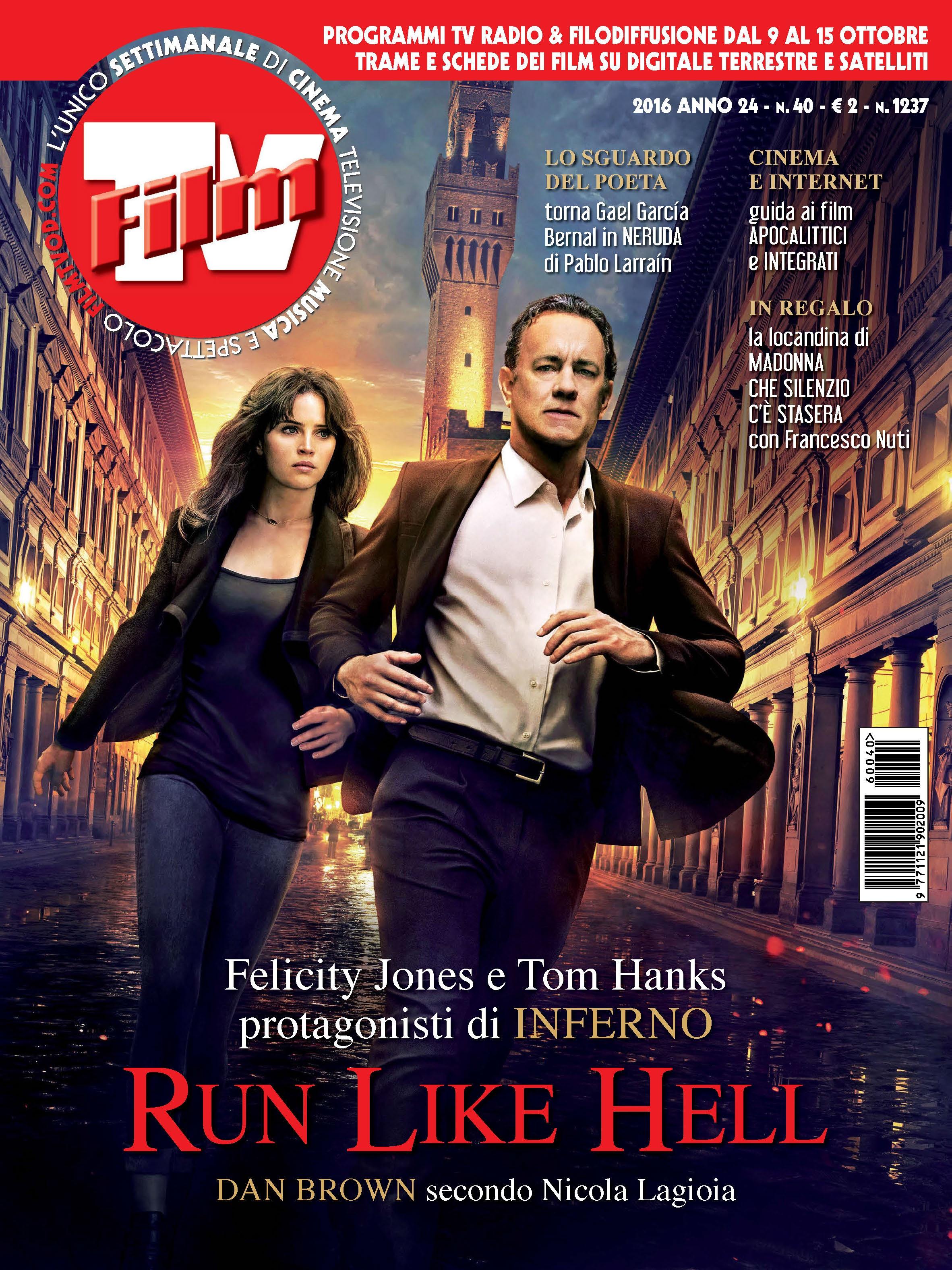 FilmTv n° 40 / 2016