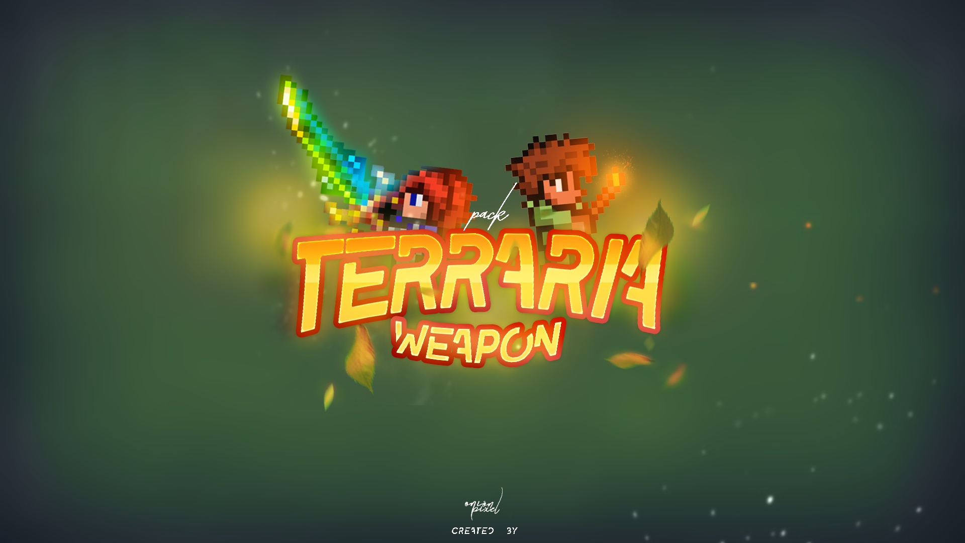 Terraria Weapon Pack » Model Pack