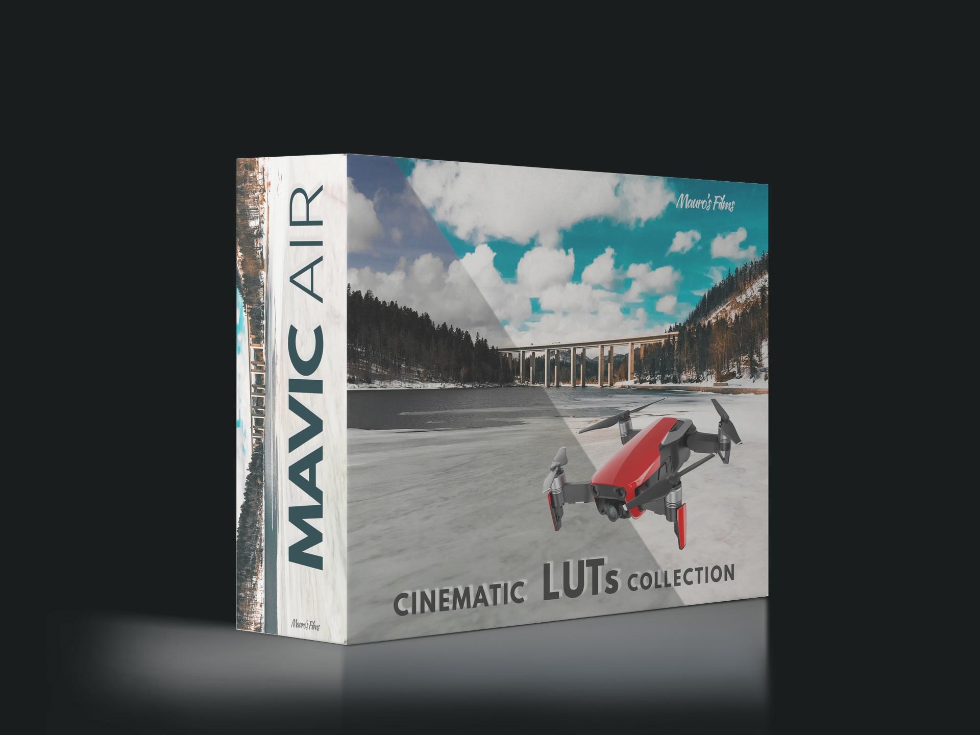 DJI MAVIC AIR CINEMA COAST COLLECTION by Mauro's Films