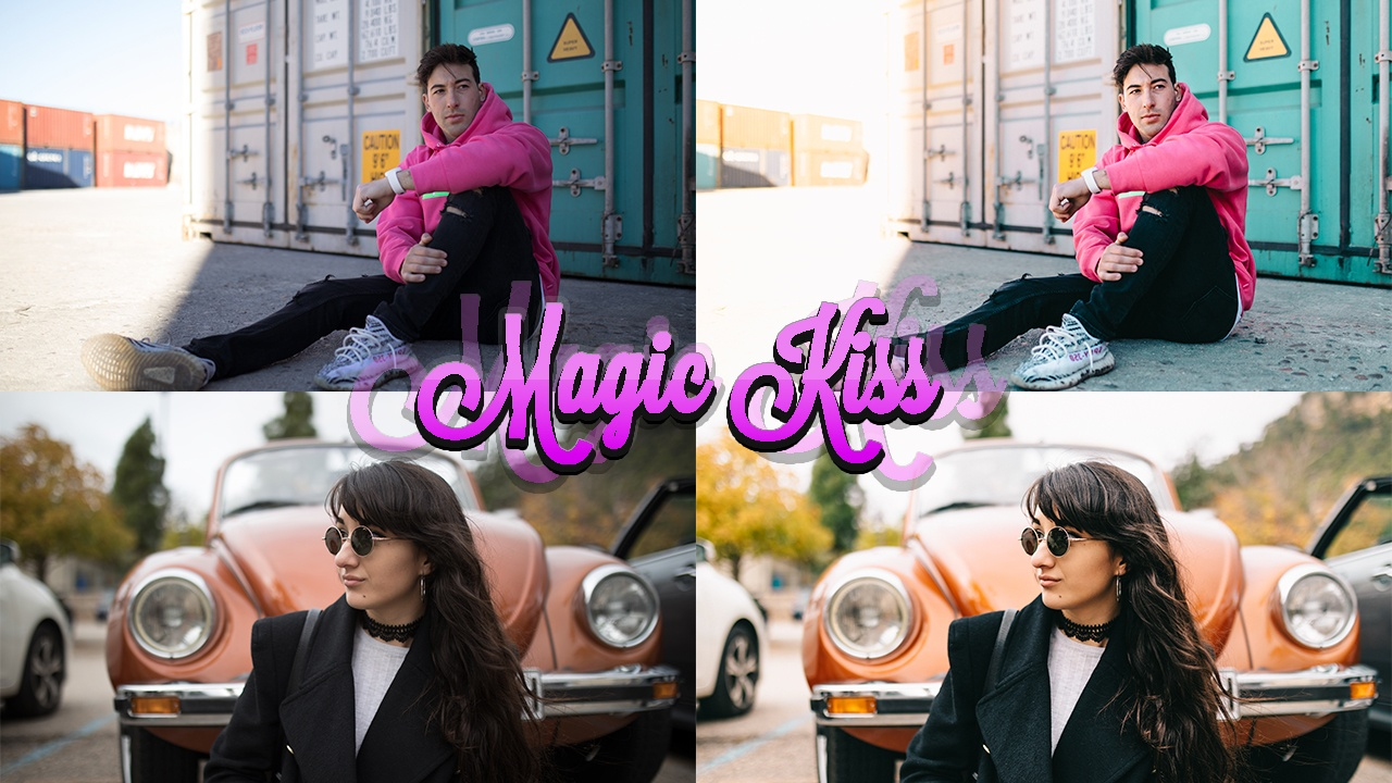 Lightroom Preset DRB Magic Kiss + Pinceles + Tutorial | @donrubenblanco