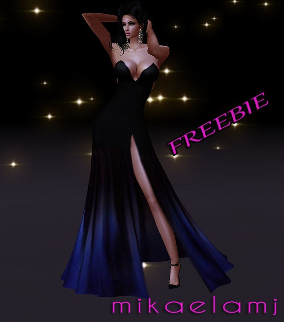 Night Sky Gown