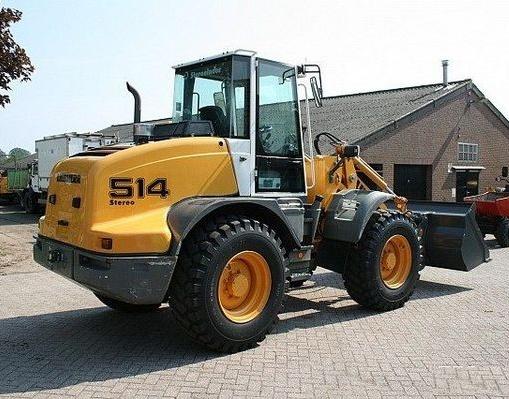 Liebherr L507S, L509S, L514 Stereo Wheel loader Service Repair Workshop Manual DOWNLOAD
