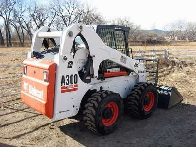 Bobcat A300 All - Wheel Steer Loader Service Repair Manual DOWNLOAD (S/N A5GW11001-A5GW1999...)