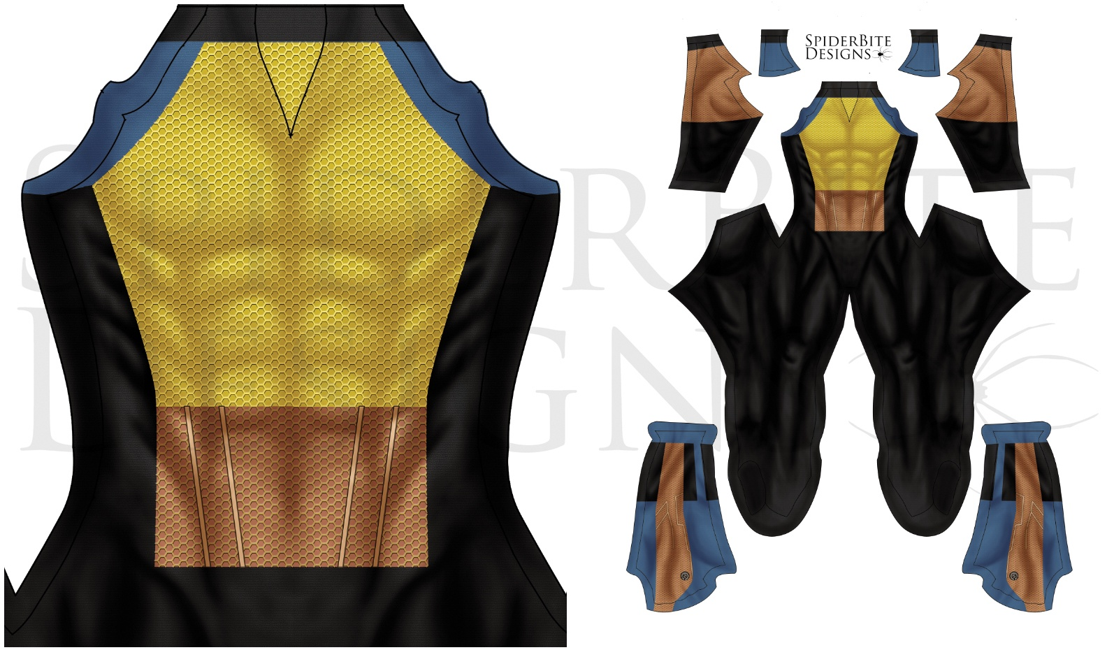 Wolverine Day of the future past undersuit