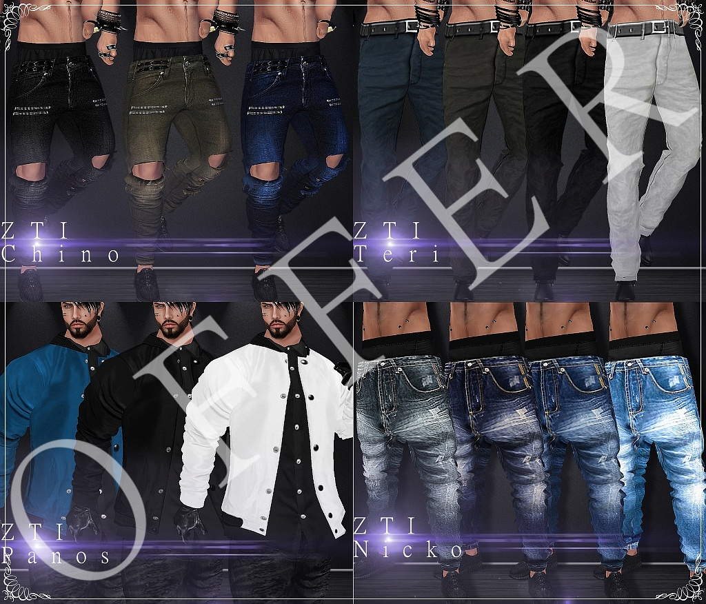 Offer - Male Clothing