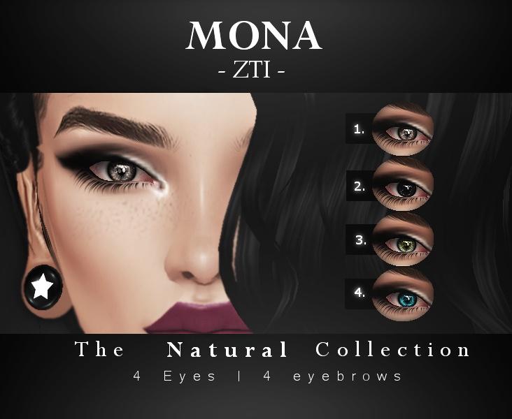 Mona | Eyes & Eyebrows  399