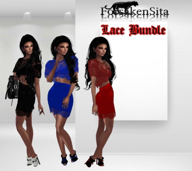 Lace Bundle Catty Only!