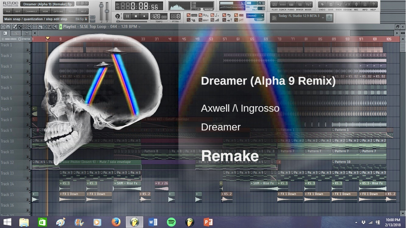 Axwell Λ Ingrosso - Dreamer (Alpha 9 Remix) [Progressive House/Trance FLP]