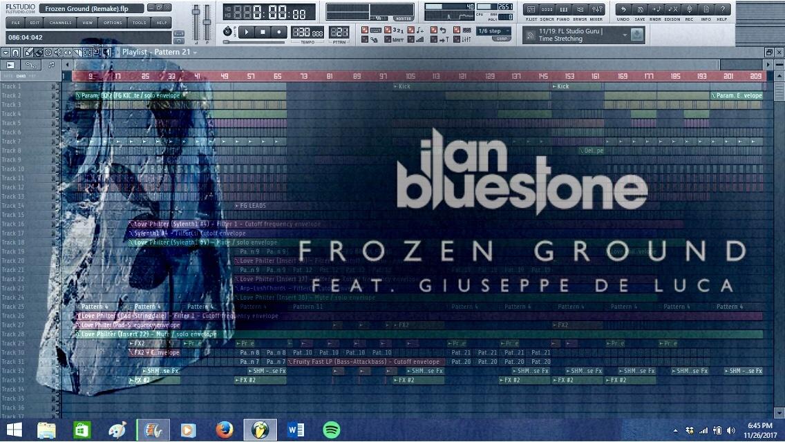 ilan Bluestone - Frozen Ground (Remake) [Progressive Trance FLP]