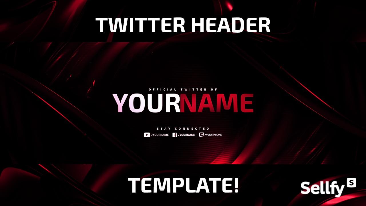 Twitter Banner Template